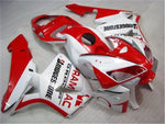 NT Aftermarket Injection ABS Plastic Fairing Kit Fit for CBR600RR 2005 2006 Red White N066 Available in TX IL