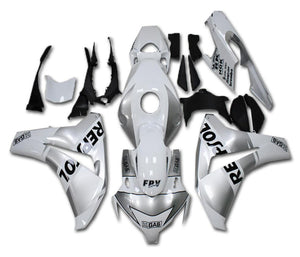 MS Injection Mold White Silver Fairing Fit for Honda 2008-2011 CBR1000RR u023 Available in IL