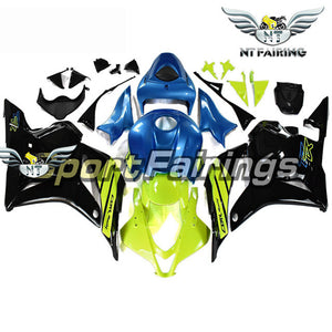 NT Aftermarket Injection ABS Plastic Fairing Fit for CBR600RR 2009-2012 Green Black Blue N036