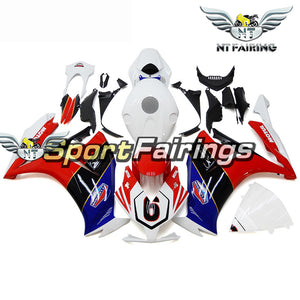 NT Aftermarket Injection ABS Plastic Fairing Fit for CBR1000RR 2012-2016 White Red Blue BLack N044