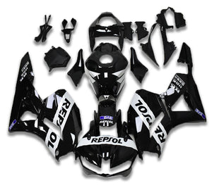 NT Aftermarket Injection ABS Plastic Fairing Fit for CBR600RR 2013-2016 Black White N019 Available in IL