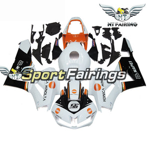 NT Aftermarket Injection ABS Plastic Fairing Fit for CBR600RR 2013-2016 White Black Orange N025