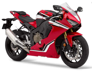 NT Aftermarket Injection ABS Plastic Fairing Fit for CBR1000RR 2017-2019 Red White Black N004 Available in TX IL