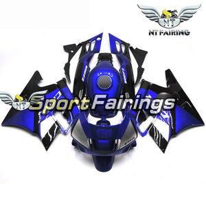 NT Aftermarket ABS Plastic Fairing Fit for CBR600 F2 1991-1994 Blue Black N006