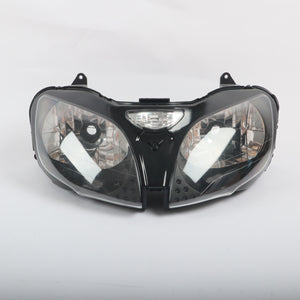 Front Motorcycle Headlight Headlamp Fit Kawasaki 2000-2002 ZX6R ZX636 2000-2003 ZX-9R Available in TX