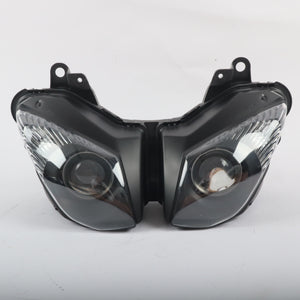 Front Motorcycle Headlight Headlamp Fit Kawasaki  2009-2012 ZX6R 636 2008-2010 ZX10R