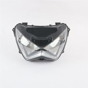 Front Headlight Headlamp Fit for Kawasaki 2012 Z800 & 2013-2015 Z300 Z250 Available in TX