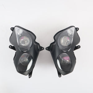 Front Motorcycle Headlight Headlamp Fit Kawasaki 2006-2011 ZX14R ZZR1400