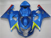 NT Aftermarket Injection ABS Plastic Fairing Fit for GSXR 600/750 2004-2005 Blue N023