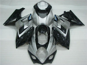 NT Aftermarket Injection ABS Plastic Fairing Fit for GSXR 1000 2007-2008 Gray Black N047