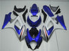 NT Aftermarket Injection ABS Plastic Fairing Fit for GSXR 1000 2007-2008 Blue White N053