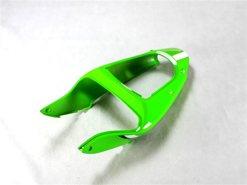 NT Aftermarket Injection ABS Plastic Fairing Fit for ZX6R 636 2000-2002 Green Black White N014