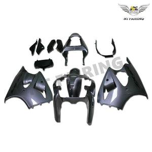 NT Aftermarket Injection ABS Plastic Fairing Fit for ZX6R 636 2000-2002 Glossy Gray N043 Available in TX