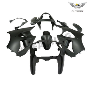 NT Aftermarket Injection ABS Plastic Fairing Fit for ZX6R 636 2000-2002 Matte Black N045 Available in IL