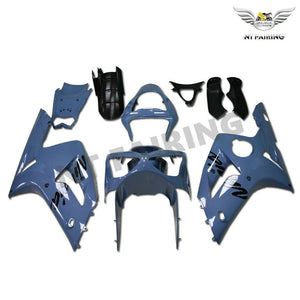 NT Aftermarket Injection ABS Plastic Fairing Fit for ZX6R 636 2003-2004 Gray N033 Available in IL