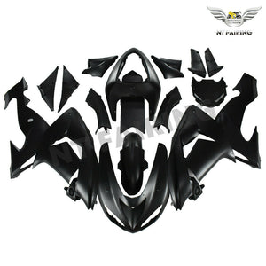 NT Aftermarket Injection ABS Plastic Fairing Fit for ZX10R 2006-2007 Matte Black N045 Available in IL