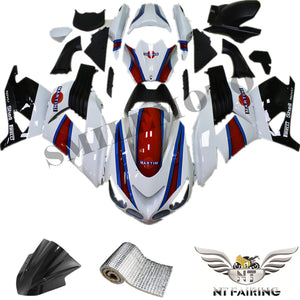 NT Aftermarket Injection ABS Plastic Fairing Fit for ZX14R 2006-2011 White Red Blue Black N034 Available in TX