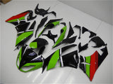 NT Aftermarket Injection ABS Plastic Fairing Fit for ZX6R 636 2009-2012 Black Green Red N007