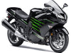 NT Aftermarket Injection ABS Plastic Fairing Fit for ZX14R 2012-2017 Black Green N001 Available in TX