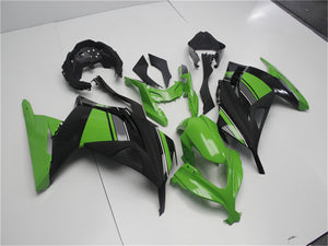 NT Aftermarket Injection ABS Plastic Fairing Fit for EX300 2013-2016 Green Black N001 Available in CA, TX, KY