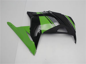 NT Aftermarket Injection ABS Plastic Fairing Fit for EX300 2013-2016 Green Black N001