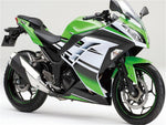 NT Aftermarket Injection ABS Plastic Fairing Fit for EX300 2013-2016 Green White Black N006