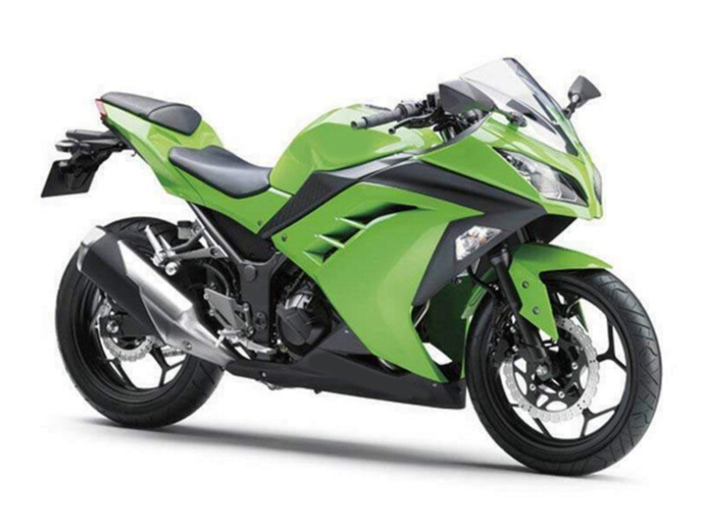 NT Aftermarket Injection ABS Plastic Fairing Fit for EX300 2013-2016 Green Black N010 Available in CA, KY