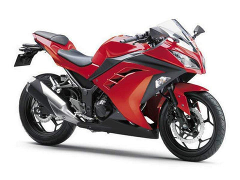 NT Aftermarket Injection ABS Plastic Fairing Fit for EX300 2013-2016 Red Black N011 Available in TX IL