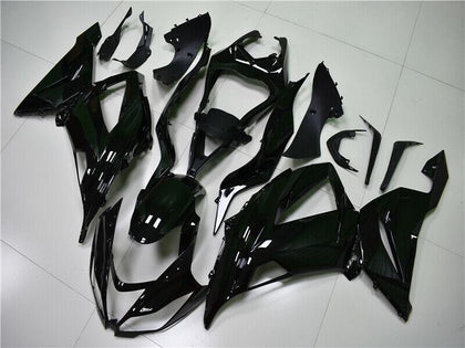 NT Aftermarket Injection ABS Plastic Fairing Fit for ZX6R 636 2013-2016 Glossy Black N001