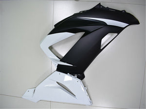 NT Aftermarket Injection ABS Plastic Fairing Fit for ZX6R 636 2013-2016 White Black N002