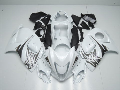 NT Aftermarket Injection ABS Plastic Fairing Fit for GSXR 1300 Hayabusa 2008-2016 White N002