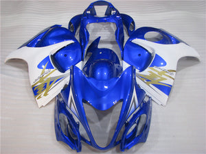 NT Aftermarket Injection ABS Plastic Fairing Fit for GSXR 1300 Hayabusa 2008-2016 Blue White N012