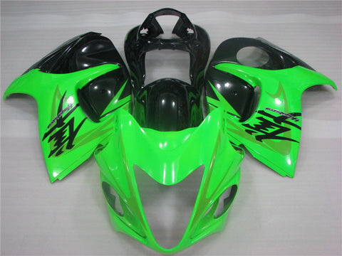 NT Aftermarket Injection ABS Plastic Fairing Fit for GSXR 1300 Hayabusa 2008-2016 Green Black N016