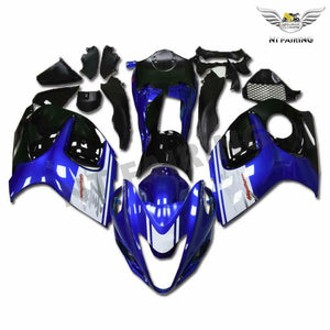 NT Aftermarket Injection ABS Plastic Fairing Fit for GSXR 1300 Hayabusa 2008-2016 Blue White Black N018 Available in IL