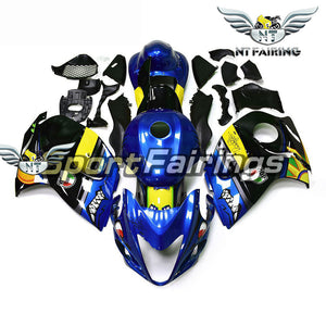 NT Aftermarket Injection ABS Plastic Fairing Fit for GSXR 1300 Hayabusa 2008-2016 Blue Black N059