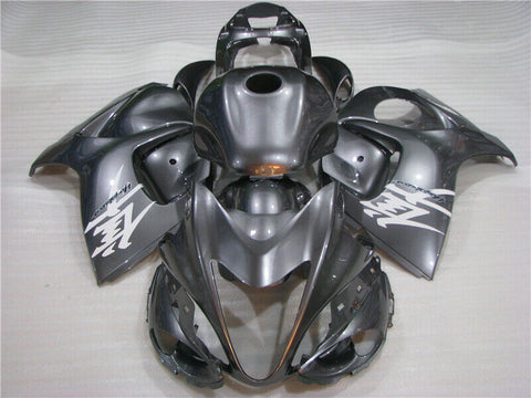NT Aftermarket Injection ABS Plastic Fairing Fit for GSXR 1300 Hayabusa 2008-2016 Gray N004