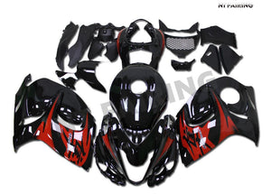 NT Aftermarket Injection ABS Plastic Fairing Fit for GSXR 1300 Hayabusa 2008-2016 Red Black N008