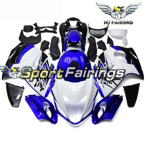 NT Aftermarket Injection ABS Plastic Fairing Fit for GSXR 1300 Hayabusa 2008-2016 White Blue N075