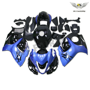 NT Aftermarket Injection ABS Plastic Fairing Fit for GSXR 1300 Hayabusa 2008-2016 Blue Black N061 Available in IL