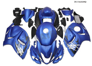 NT Aftermarket Injection ABS Plastic Fairing Fit for GSXR 1300 Hayabusa 2008-2016 Matte Blue N077