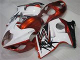 NT Aftermarket Injection ABS Plastic Fairing Fit for GSXR 1300 Hayabusa 1997-2007 Orange White Black N012