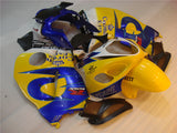 NT Aftermarket Injection ABS Plastic Fairing Fit for GSXR 1300 Hayabusa 1997-2007 Yellow Blue N017