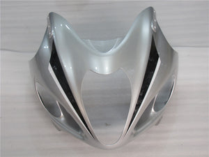 NT Aftermarket Injection ABS Plastic Fairing Fit for GSXR 1300 Hayabusa 1997-2007 Silver Black N039
