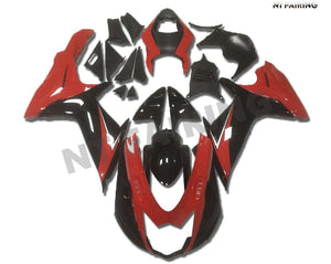 NT Aftermarket Injection ABS Plastic Fairing Fit for GSXR 600/750 2011-2016 Red Black N005 Available in IL