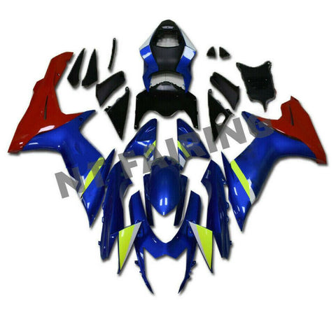 NT Aftermarket Injection ABS Plastic Fairing Fit for GSXR 600/750 2011-2016 Blue Red N044