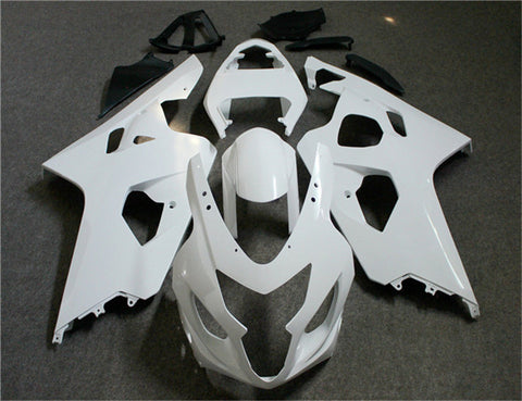 NT Unpainted Aftermarket Injection ABS Plastic Fairing Fit for GSXR 600/750 2004-2005