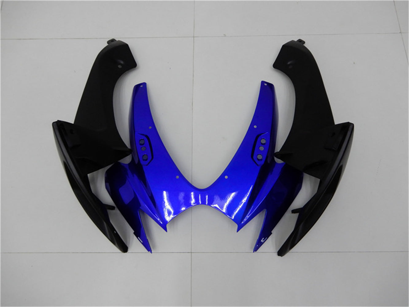 NT Aftermarket Injection ABS Plastic Fairing Kit Fit for GSXR 600/750 2006 2007 Blue Black N001 Available in CA, IL