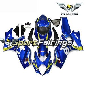 NT Aftermarket Injection ABS Plastic Fairing Fit for GSXR 1000 2007-2008 Blue N069