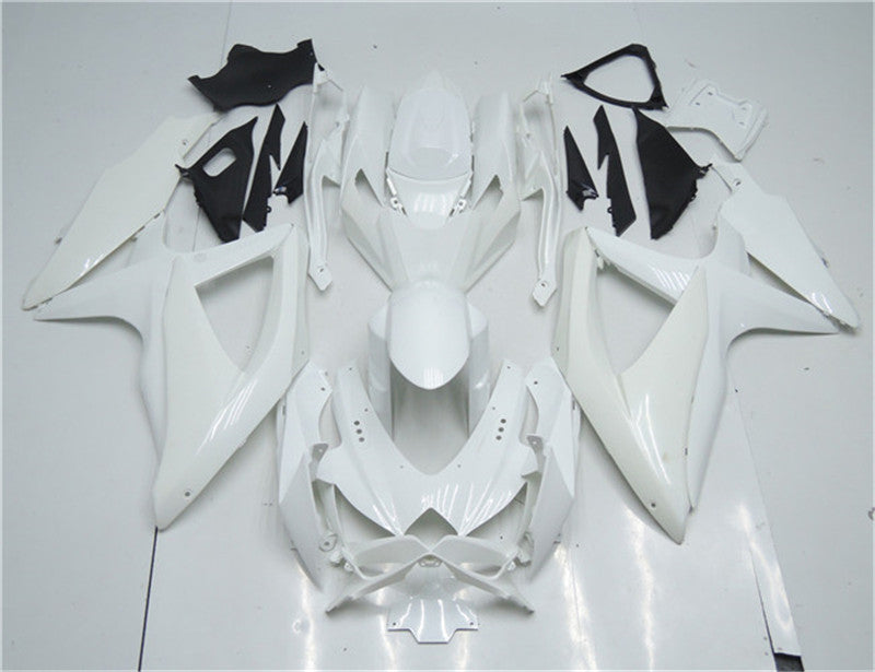 NT Unpainted Aftermarket Injection ABS Plastic Fairing Fit for GSXR 600/750 2008-2010 Available in CA, TX