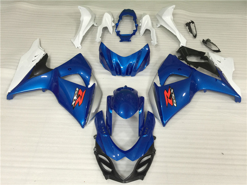 NT Aftermarket Injection ABS Plastic Fairing Fit for GSXR 1000 2009-2016 Blue White N042